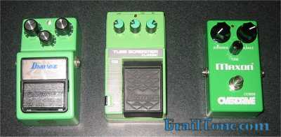 Tube Screamers TS9 TS10 OD808