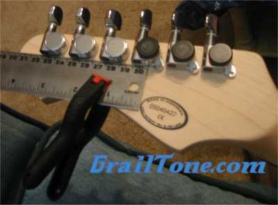 Planet Waves Auto-Trim Tuning Machines install